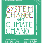 Plakat System Change Aktionstag