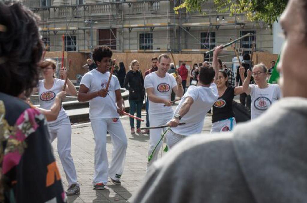Capoeira Fest der Alternativen Alternatiba