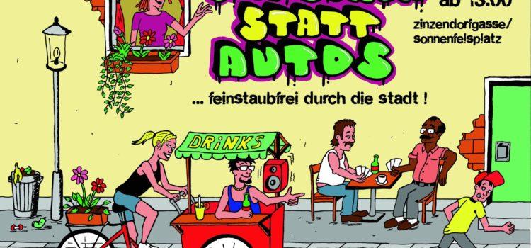 Graz am Freitag, 1. Juli: Menschen statt Autos