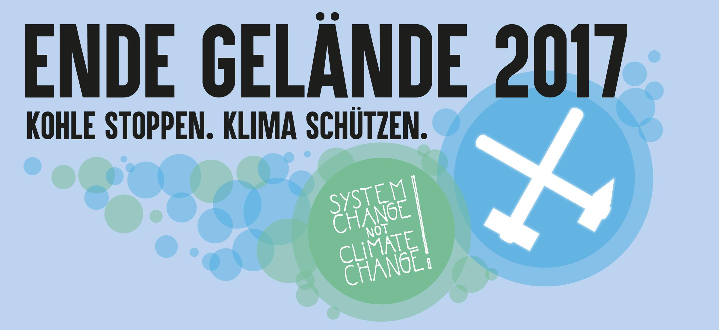 Ende Gelände bei den Klimaverhandlungen in Bonn