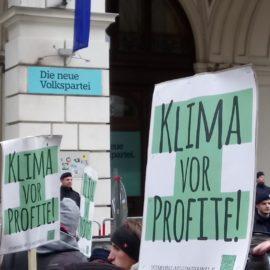 Presseaussendung: Hunderte bei Demonstration für mehr Klimaschutz und gegen Klimawandelleugner in der Regierung