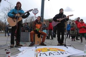 Musiker System Change Straßenfest