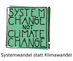 System Change, not Climate Change!