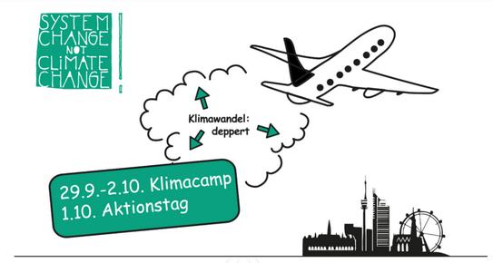 Klimacamp Wien vom 29. September bis 2. Oktober!