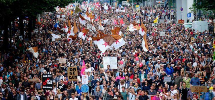 """Der G20-Gipfel in Hamburg aus Sicht von """"System Change!""""-AktivistInnen"""
