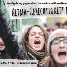 Presseaussendung: Austrian World Summit: Kundgebung gegen Klima-Heuchelei der Regierung