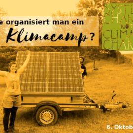 Wir starten in die neue Klimacamp-Saison!