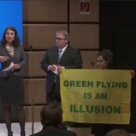 Presseaussendung: Intervention bei EU-Luftfahrtgipfel