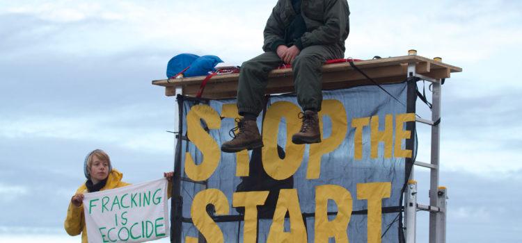 Don't Frack the Climate! Die Widerstandsgeschichte der letzten Monate