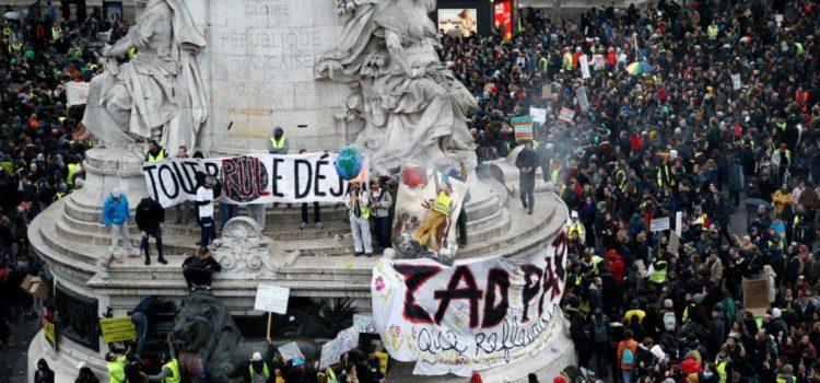 """Gelbwesten-Bewegung in Frankreich: """"Systemwandel, nicht Klimawandel!"""""""