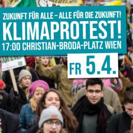 Presseaussendung: Breites Bündnis unterstützt Klimaproteste