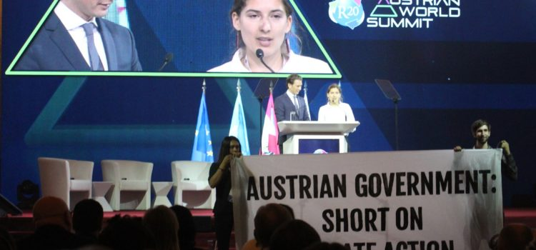 Austrian World Summit 2019: Offener Brief von Lucia Steinwender