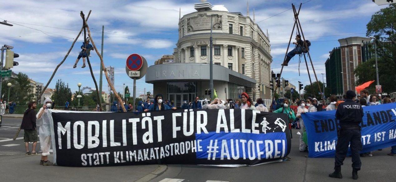 Kampagne Wien #Autofrei