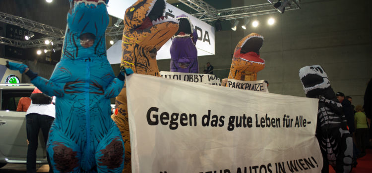 """Presseaussendung: #wienautofrei statt """"SUVs subventionieren!"""""""