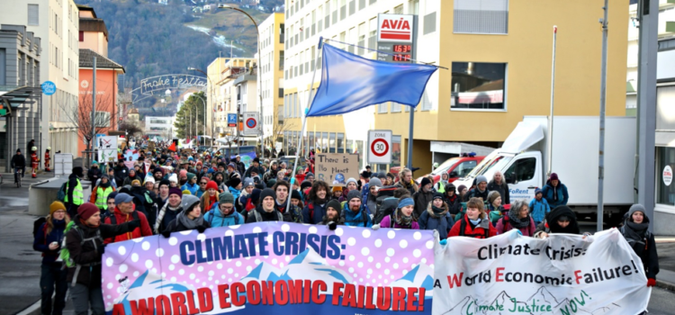 World Economic Failure – Finanzindustrie im Fokus der Klimabewegung