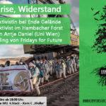 Klima, Krise, Widerstand Podiumsdiskussion