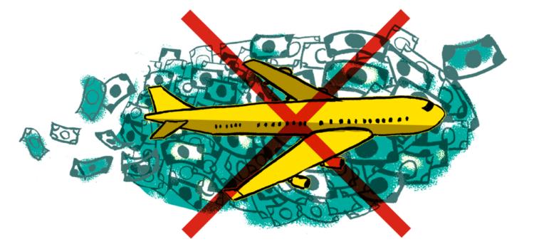 Presseaussendung: 250 Initiativen starten Aufruf gegen Milliardengeschenke für die Flugindustrie