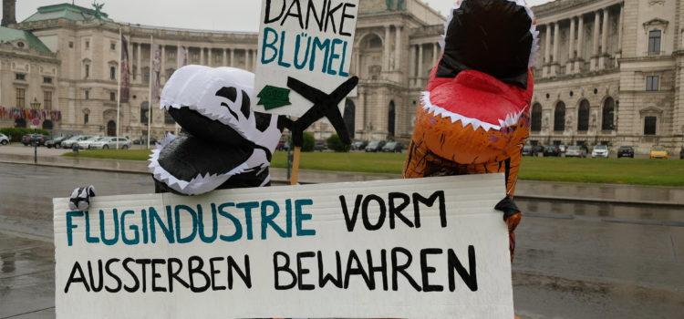 Presseaussendung: AUA-Staatshilfen: Kein Geld für Wirtschaftsdinosaurier