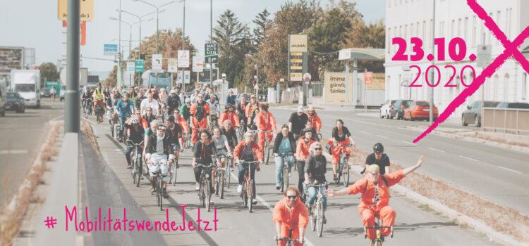 Aktionstag 23.10. – Mobilitätswende selbst in die Hand nehmen