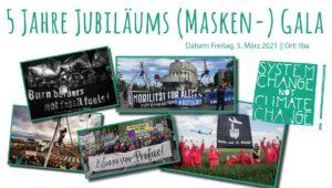 Jubiläums (Masken-)Gala 5. März