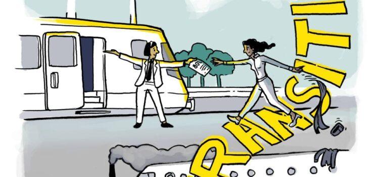 Sichere Landung: gerechter Übergang vom Flugverkehr zur klimafreundlichen Mobilität