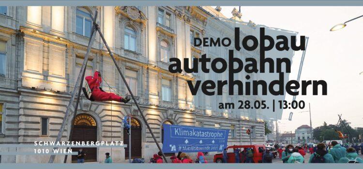 Demo #MobilitätswendeJetzt – Lobau-Autobahn & Stadtstraße verhindern!