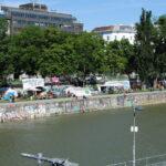 Klimaprotestcamp Donaukanal