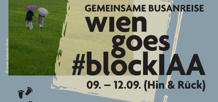 #blockIAA – Autokonzerne entmachten – Klima schützen! – 9.-12. September