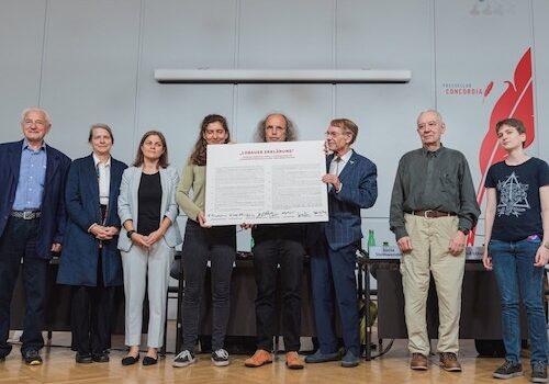 """Umweltbewegung und Wissenschaft präsentierten """"Lobauer Erklärung"""""""